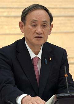 Prime Minister Yoshihide Suga (Mainichi)