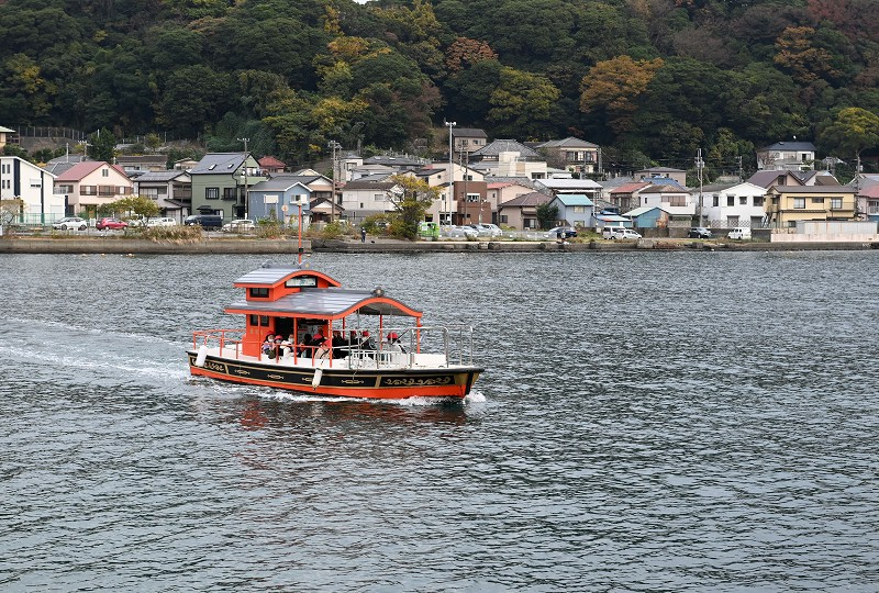 渡し船 浦賀 浦賀渡船の乗船方法 横須賀市