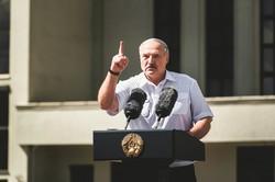 「原始力大国」化を喜ぶルカシェンコ大統領 (Bloomberg)