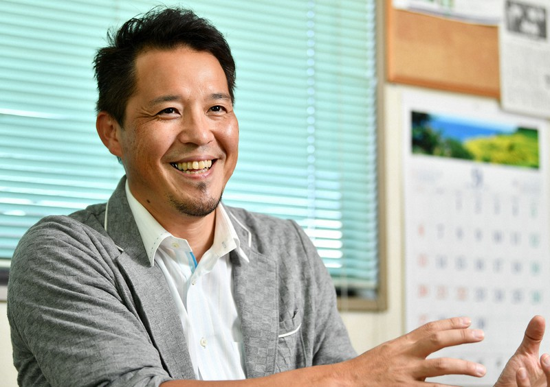 栄鋳造所の鈴木隆史代表取締役社長=東京都八王子市で、西夏生撮影