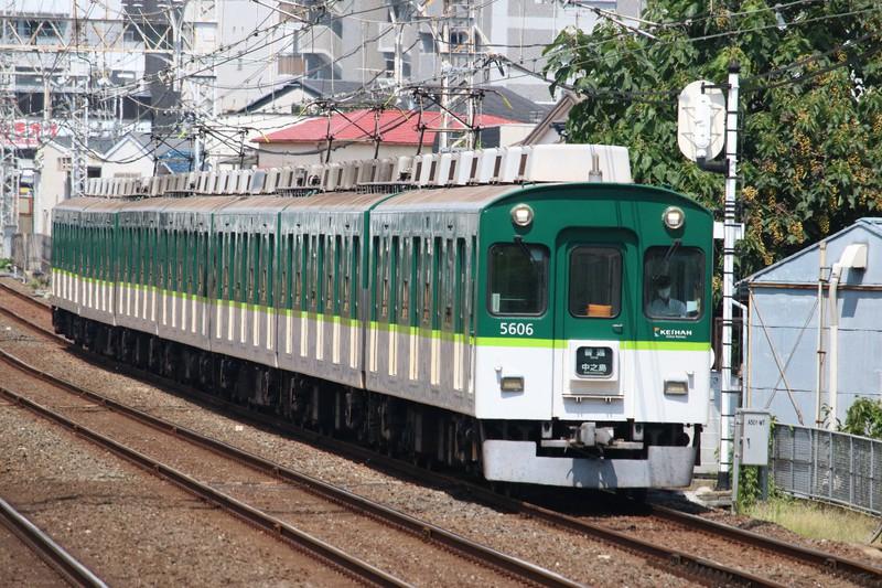 多扉車の元祖・京阪電鉄5000系