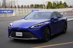 2021年はトヨタ株が快走か(同社燃料電池車「ミライ」)(Bloomberg)