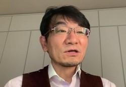 オンラインでインタビューに答える河野龍太郎さん