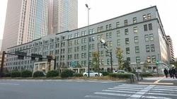 予算案の編成作業が一区切りついた財務省=東京都千代田区で2020年12月23日午後4時20分、和田憲二撮影