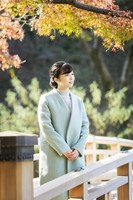 Princess Kako, the youngest daughter of Crown Prince Akishino, who celebrated her 26th birthday on Dec. 29, is seen at the Akasaka Estate in Tokyo's Minato Ward on Dec. 4, 2020. (Photo courtesy of the Imperial Household Agency)