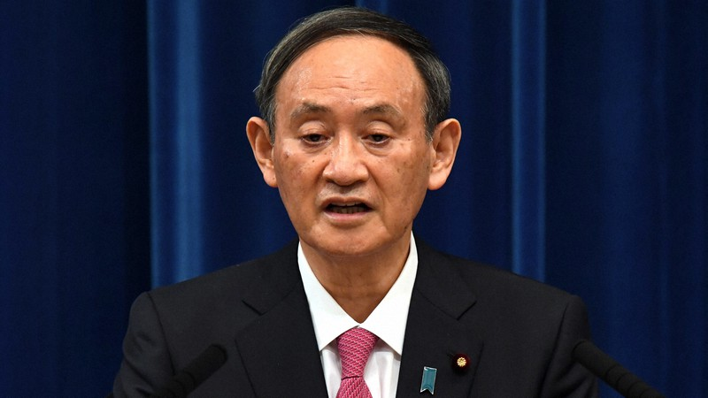 政府の「グリーン成長戦略」について「経済と環境の好循環を生み出す方向で進めたい」と語る菅義偉首相=首相官邸で2020年12月25日、竹内幹撮影