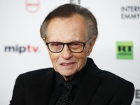 In this Nov. 20, 2017 file photo, Larry King attends the 45th International Emmy Awards at the New York Hilton, in New York. (Photo by Andy Kropa/Invision/AP)