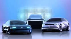 現代自動車が2021年から順次投入するSUVタイプの新型EV「IONIQ」シリーズのコンセプトカー(現代自提供)