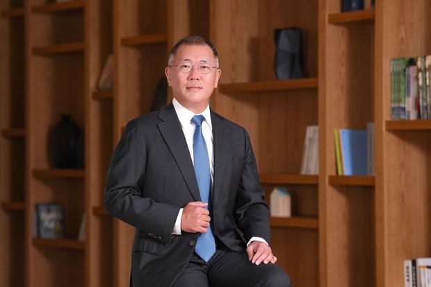 2020年10月に現代自動車グループの新会長に就任した鄭義宣(チョン・ウィソン)氏(現代自提供)