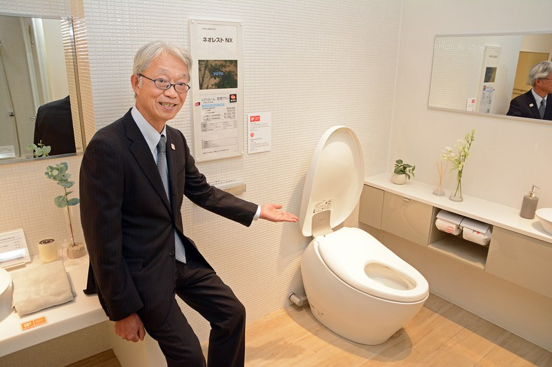 Interviewer 藤枝克治(本誌編集長) Photo 武市 公孝:東京都渋谷区のTOTO東京センターショールームで
