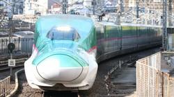 実証実験が行われる東北新幹線(E5系)