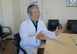 がん研有明病院腫瘍精神科部長の清水研さん=東京都江東区のがん研有明病院で2020年12月4日、林奈緒美撮影