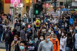 平穏な状況に戻りつつある香港(2020年12月)(Bloomberg)