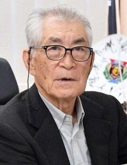 Tasuku Honjo, deputy director and distinguished professor at Kyoto University Institute for Advanced Study, is seen in this file photo taken in Sakyo Ward, Kyoto, on April 6, 2020. (Mainichi/Ai Kawahira)