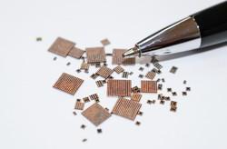 ネぺスの先端パッケージ技術で作った非メモリー半導体 ネペス提供