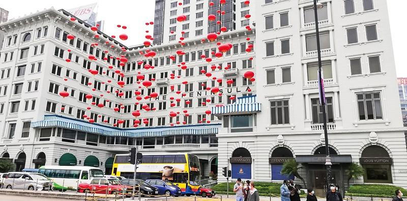 地元住民を呼び込むが……(香港の高級ホテル) 筆者撮影