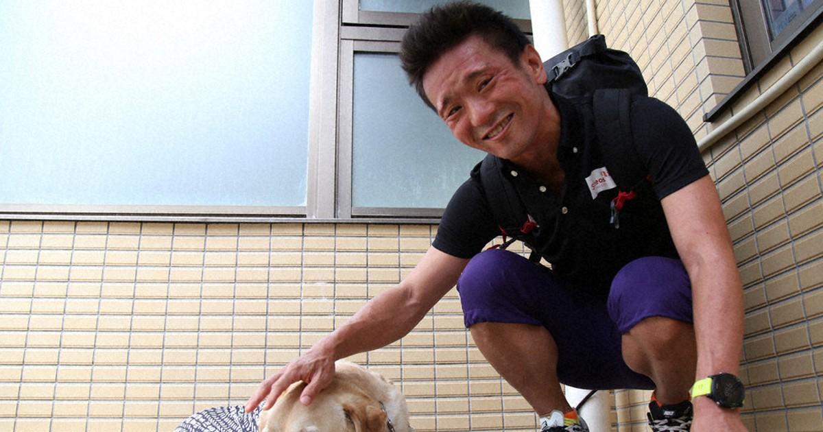 月刊パラリンピック:盲導犬、当然の社会に トライアスロン視覚障害クラス・中沢隆の「東京・わたし」