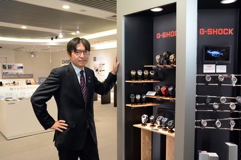Gショックが中国で好調 樫尾和宏 カシオ計算機社長