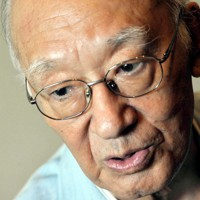 作家の半藤一利さん=東京都千代田区で2011年8月29日、小林努撮影