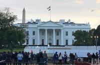 This November 2019 file photo shows the White House in Washington. (Mainichi/Kota Takamoto)