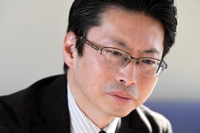 一橋大の中北浩爾教授=東京都千代田区で2020年12月18日、竹内紀臣撮影
