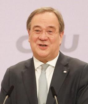 ドイツ与党・キリスト教民主同盟(CDU)の新党首に選出されたラシェット氏=AP