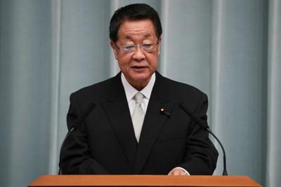 第4次安倍内閣当時の吉川貴盛元農相=首相官邸で2018年10月2日、玉城達郎撮影