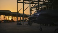 In this April 24, 2019 file photo released by the U.S. Air Force, an F-35A Lightning II fighter jet prepares to taxi and take off from Al-Dhafra Air Base in the United Arab Emirates. (Staff Sgt. Chris Drzazgowski/U.S. Air Force via AP)