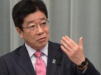 Chief Cabinet Secretary Katsunobu Kato (Mainichi/Kan Takeuchi)