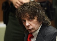 In this May 29, 2009 file photo, music producer Phil Spector sits in a courtroom for his sentencing in Los Angeles. (AP Photo/Jae C. Hong, Pool)