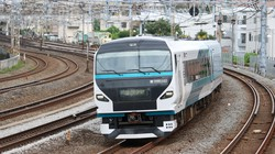 特急「湘南」に使われるE257系