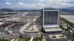 福建省にあるCATL本社(Bloomberg)