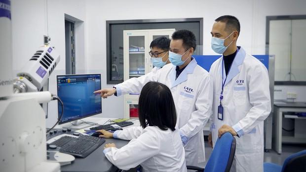 CATLの開発陣は、海外で経験を積んだ若い技術者がそろう(CATL市場部提供)