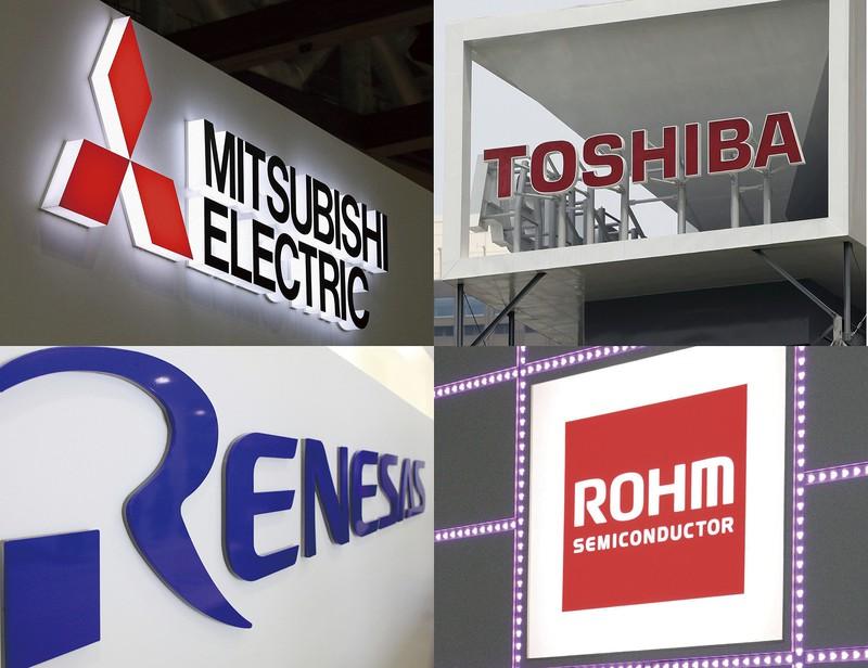 世界シェア上位には日本企業が多い(Bloomberg、共同通信)