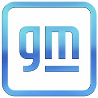 This image provided by General Motors shows the new company logo. (General Motors via AP)