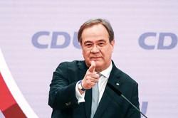 CDU党首に選出されたラシェット氏 (Bloomberg)