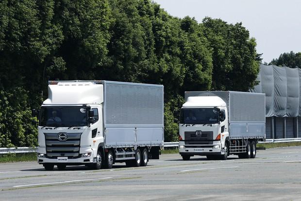水素燃料電池は大型貨物車に適している (Bloomberg)