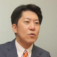佐藤啓氏=高橋恵子撮影
