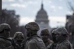 米ワシントンは緊張感に包まれている(Bloomberg)