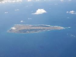 米軍基地が建設される鹿児島県の無人島、馬毛島(筆者撮影)