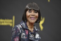 Cicely Tyson arrives at night two of the Creative Arts Emmy Awards on Sept. 15, 2019, in Los Angeles. (Photo by Richard Shotwell/Invision/AP)