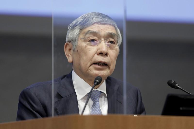 円高対策の主たる役割を担う……(日銀の黒田東彦総裁)(Bloomberg)