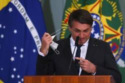 コロナ対応が遅れたブラジルのボルソナロ大統領(Bloomberg)