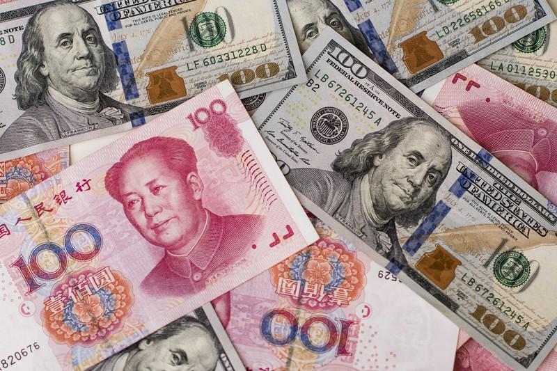 米ドルに対する影響力を高める中国人民元(Bloomberg)