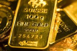 金が再び上昇する条件は続いている(2020年7月、ロンドン)(Bloomberg)