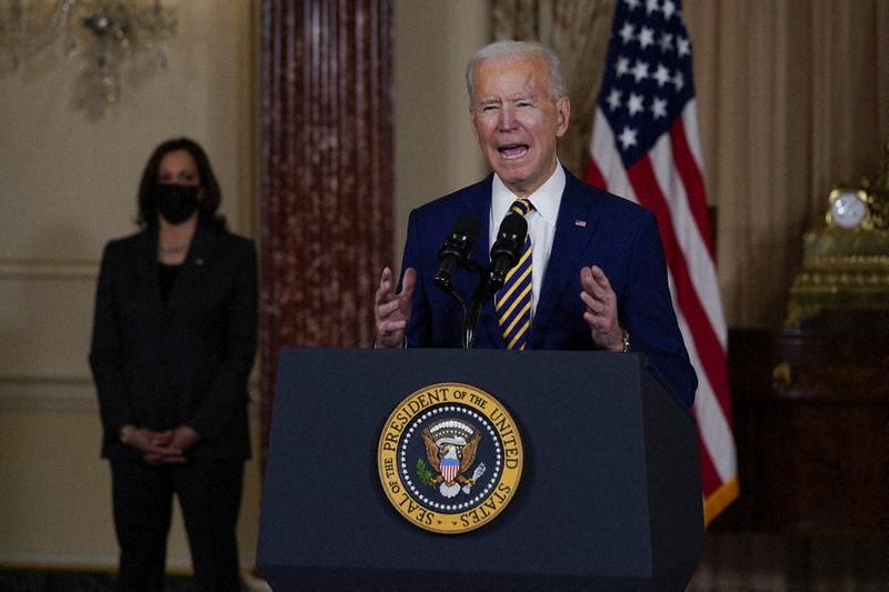 アメリカのバイデン大統領、初の外交方針演説