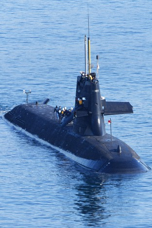 海上自衛隊の潜水艦と船が衝突 高知沖