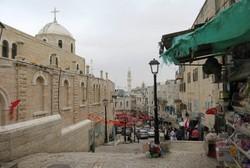 ベツレヘム旧市街を貫くパウロ6世通り沿いには多くの教会がある(写真は筆者撮影)