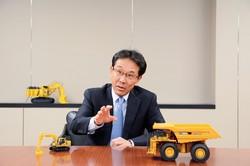 100周年を迎えるコマツの小川啓之CEO