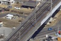 In the city of Koriyama, Fukushima Prefecture, on Feb. 14, 2021. (Mainichi)